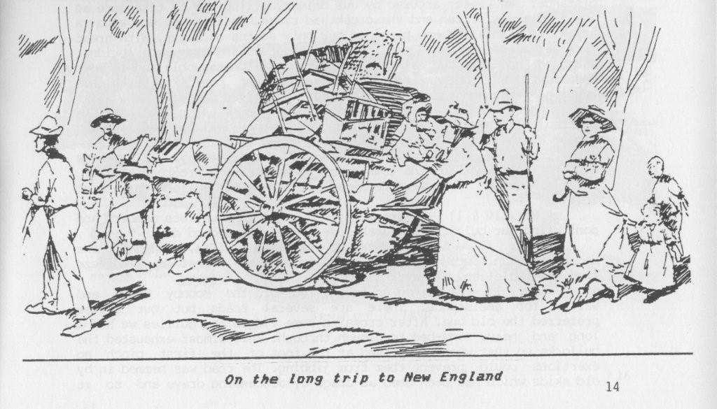 From Sydney to New England