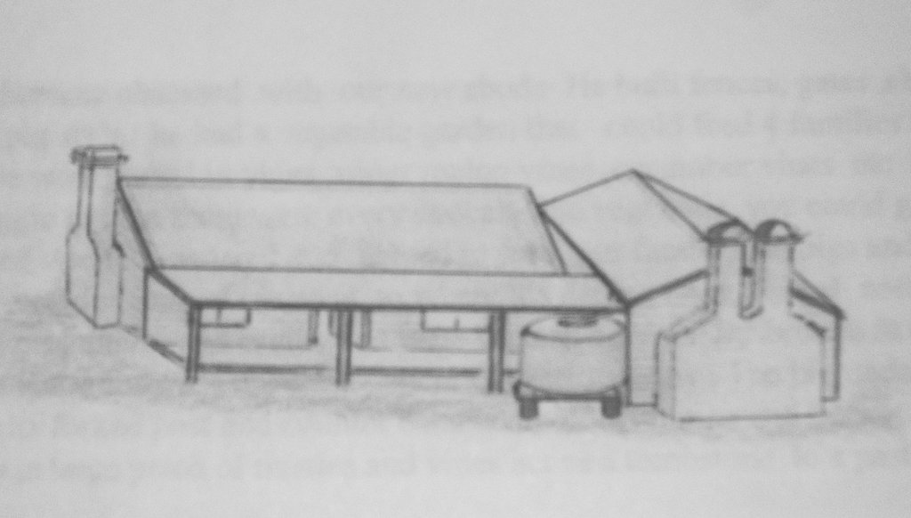 Drawing of our Home at Dumaresq 1956!